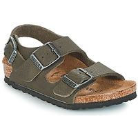 Schoenen Jongens Sandalen / Open schoenen Birkenstock MILANO Groen