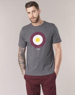 Textiel Heren T-shirts korte mouwen Ben Sherman THE TARGET TEE Grijs