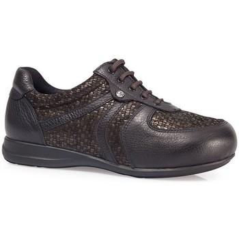 Schoenen Dames Lage sneakers Calzamedi SCHOENEN  DIABETISCHE ELASTISCHE SCHOP W BROWN