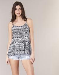 Textiel Dames Tops / Blousjes Yurban IKTOR Blauw