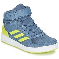 Schoenen Jongens Hoge sneakers adidas Performance ALTASPORT MID EL K Blauw