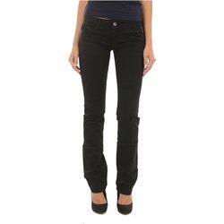 Textiel Dames Straight jeans Meltin'pot MELIA G2311 GT000 Zwart