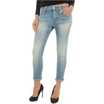 Textiel Dames Boyfriend jeans Meltin'pot LAKITA D1669 UK420 Blauw
