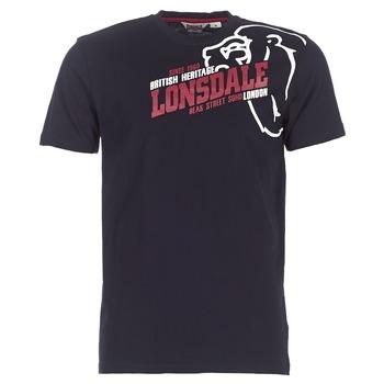 Textiel Heren T-shirts korte mouwen Lonsdale WALKLEY Zwart