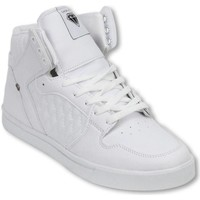 Schoenen Heren Hoge sneakers Cash Money Schoenen - Sneaker High - Jailor White Matt Wit