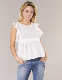 Textiel Dames Tops / Blousjes Betty London INNATOUNE Wit