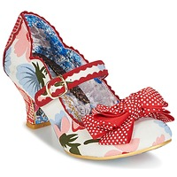 Schoenen Dames pumps Irregular Choice BALMY NIGHTS Wit / Rood