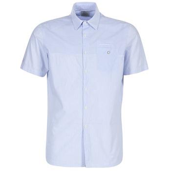 Textiel Heren Overhemden korte mouwen Oxbow K1CAMINO Blauw