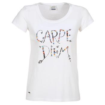 Textiel Dames T-shirts korte mouwen Oxbow K1TEANA Wit