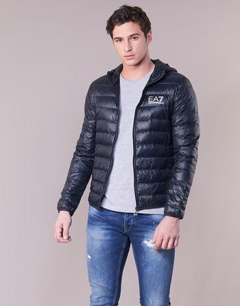 eced24154cd2bc goed Textiel Heren Dons gevoerde jassen Emporio Armani EA7 CORE ID 8NPB02  Marine