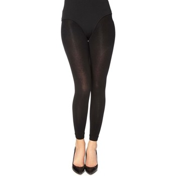 Ondergoed Dames Panty's/Kousen Gabriella 179-COTTON NERO Zwart