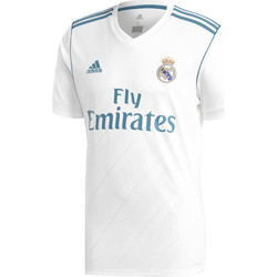 Textiel Heren T-shirts korte mouwen adidas Performance Real Madrid Replica Thuisshirt Wit / Groen