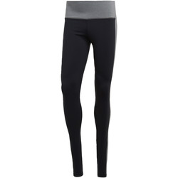 Textiel Dames Leggings adidas Performance Believe This High-Rise Heathered Legging Zwart