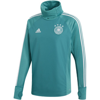 Textiel Heren Fleece adidas Performance Duitsland Warm Sweatshirt Turkoois / Groen / Wit