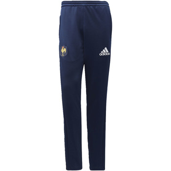 Textiel Heren Trainingsbroeken adidas Performance FFR Training Broek Donkerblauw / Blauw / Wit