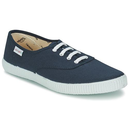 Schoenen Lage sneakers Victoria INGLESA LONA Marine