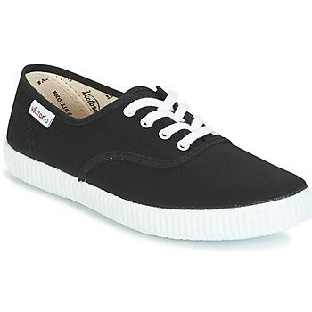 Schoenen Lage sneakers Victoria INGLESA LONA Zwart