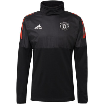 Textiel Heren Trainings jassen adidas Performance Manchester United Hybride Shirt Zwart / Rood