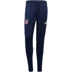 Textiel Heren Trainingsbroeken adidas Performance FC Bayern München Replica Trainingsbroek Donkerblauw / Wit