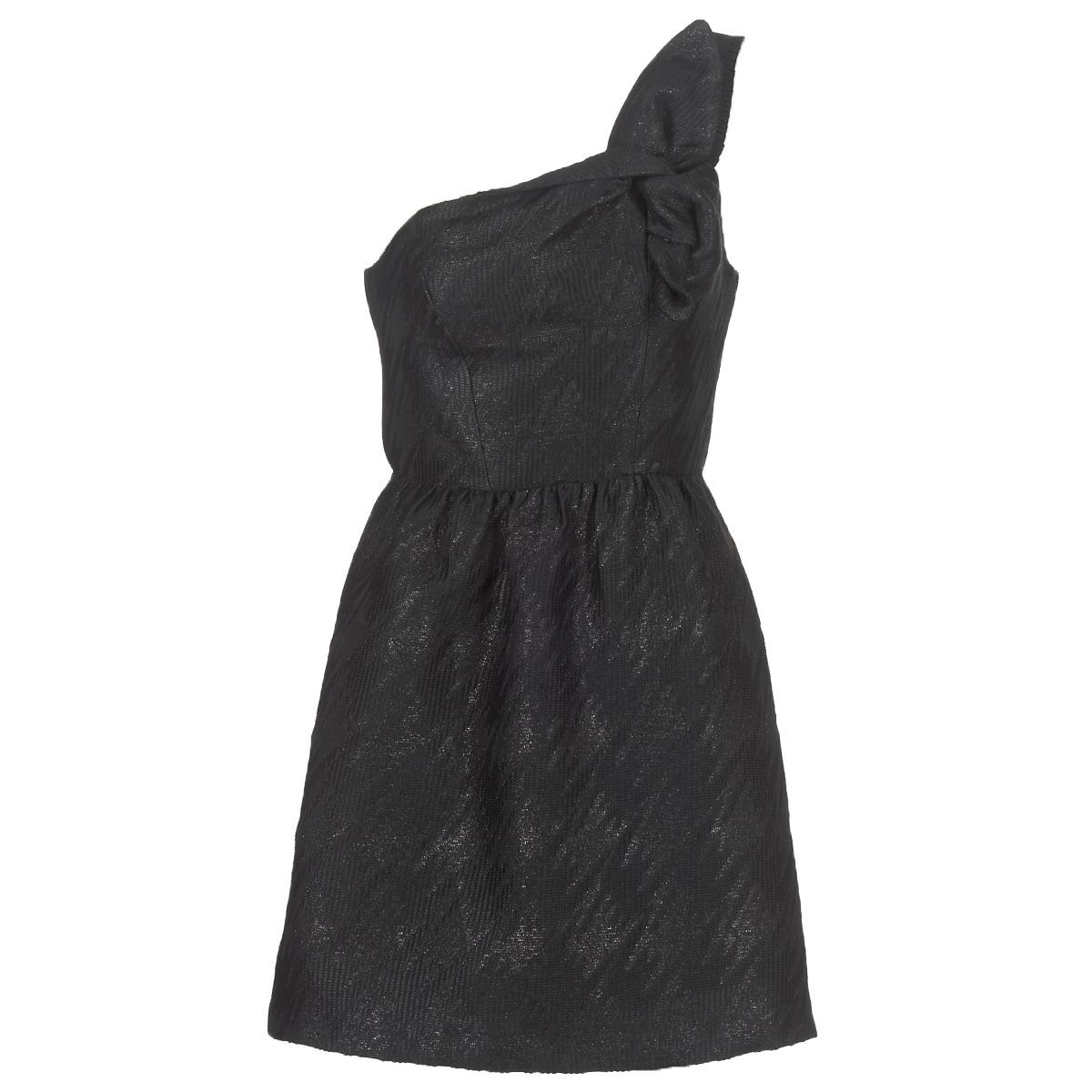 NAF NAF korte jurk eclair zwart