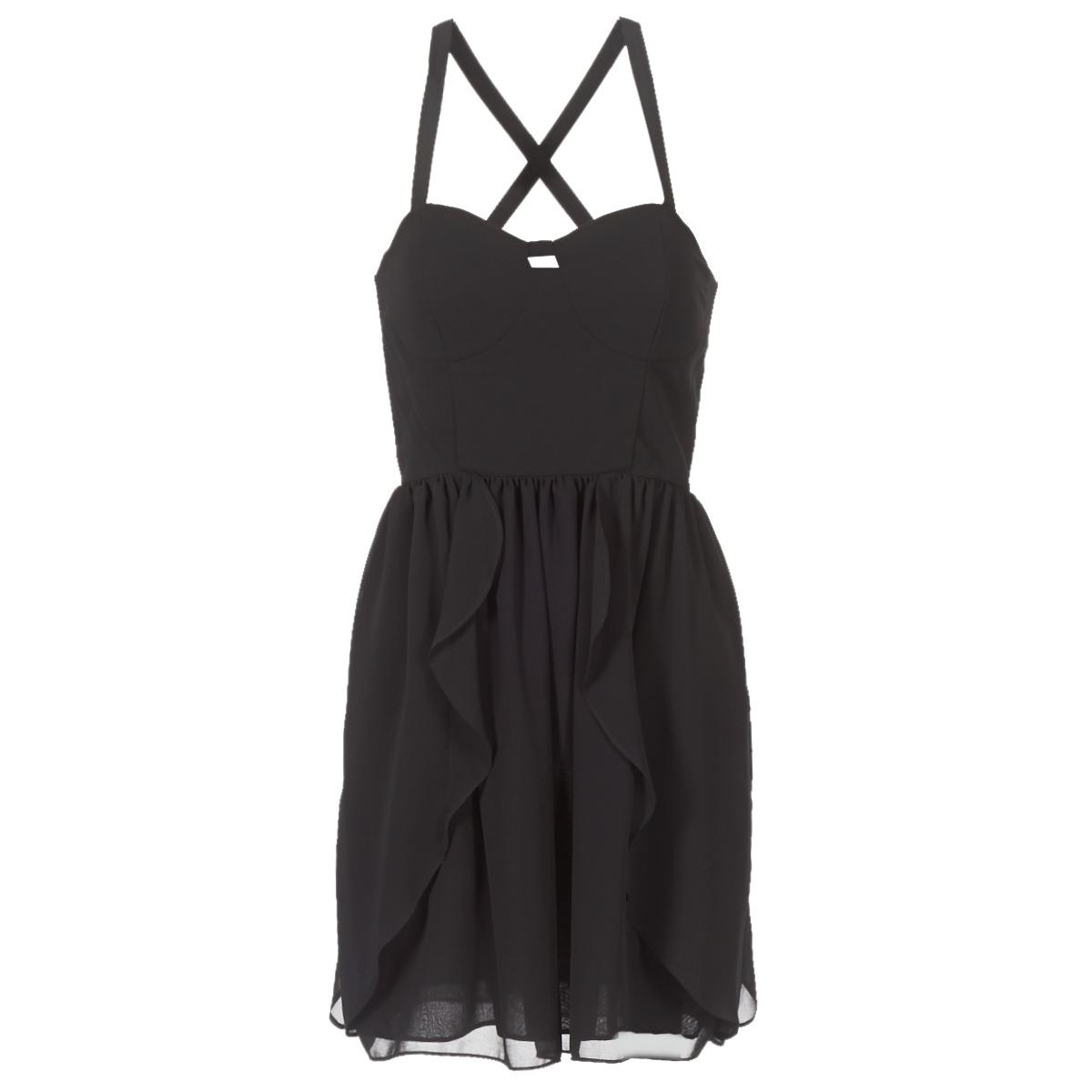 NAF NAF korte jurk leny r1 zwart