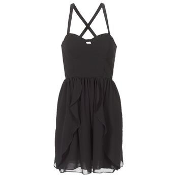 Textiel Dames Korte jurken Naf Naf LENY R1 Zwart