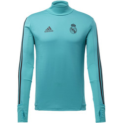 Textiel Heren Sweaters / Sweatshirts adidas Performance Real Madrid Trainingsshirt Turkoois / Zwart