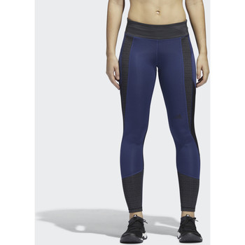 Textiel Dames Leggings adidas Performance Design 2 Move Mid Rise 7/8 adiHack Legging Oranje