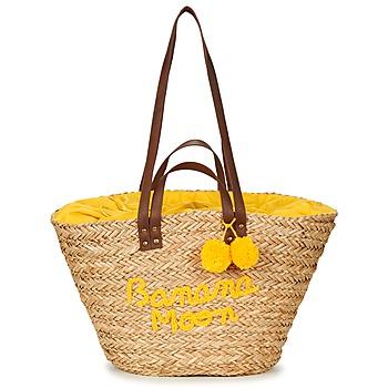 Tassen Dames Tote tassen / Boodschappentassen Banana Moon LACELY WOODRAW Naturel / Geel