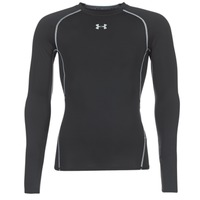 Textiel Heren T-shirts met lange mouwen Under Armour LS COMPRESSION Zwart