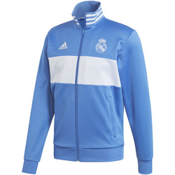 Textiel Heren Trainings jassen adidas Performance Real Madrid 3-Stripes Trainingsjack Blauw