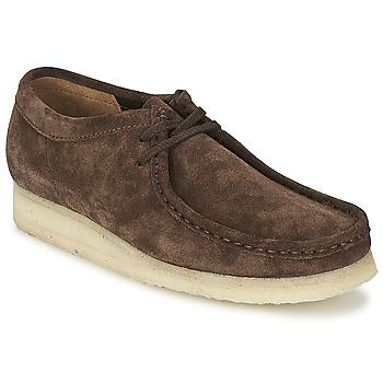 Schoenen Heren Derby Clarks WALLABEE Bruin