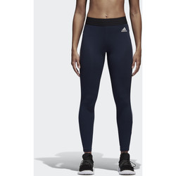 Textiel Dames Leggings adidas Performance Essentials 3-Stripes Legging Blauw / Wit