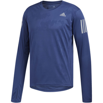 Textiel Heren Trainings jassen adidas Performance Response Shirt blue