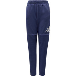 Textiel Jongens Trainingsbroeken adidas Performance Essentials Logo Broek Wit