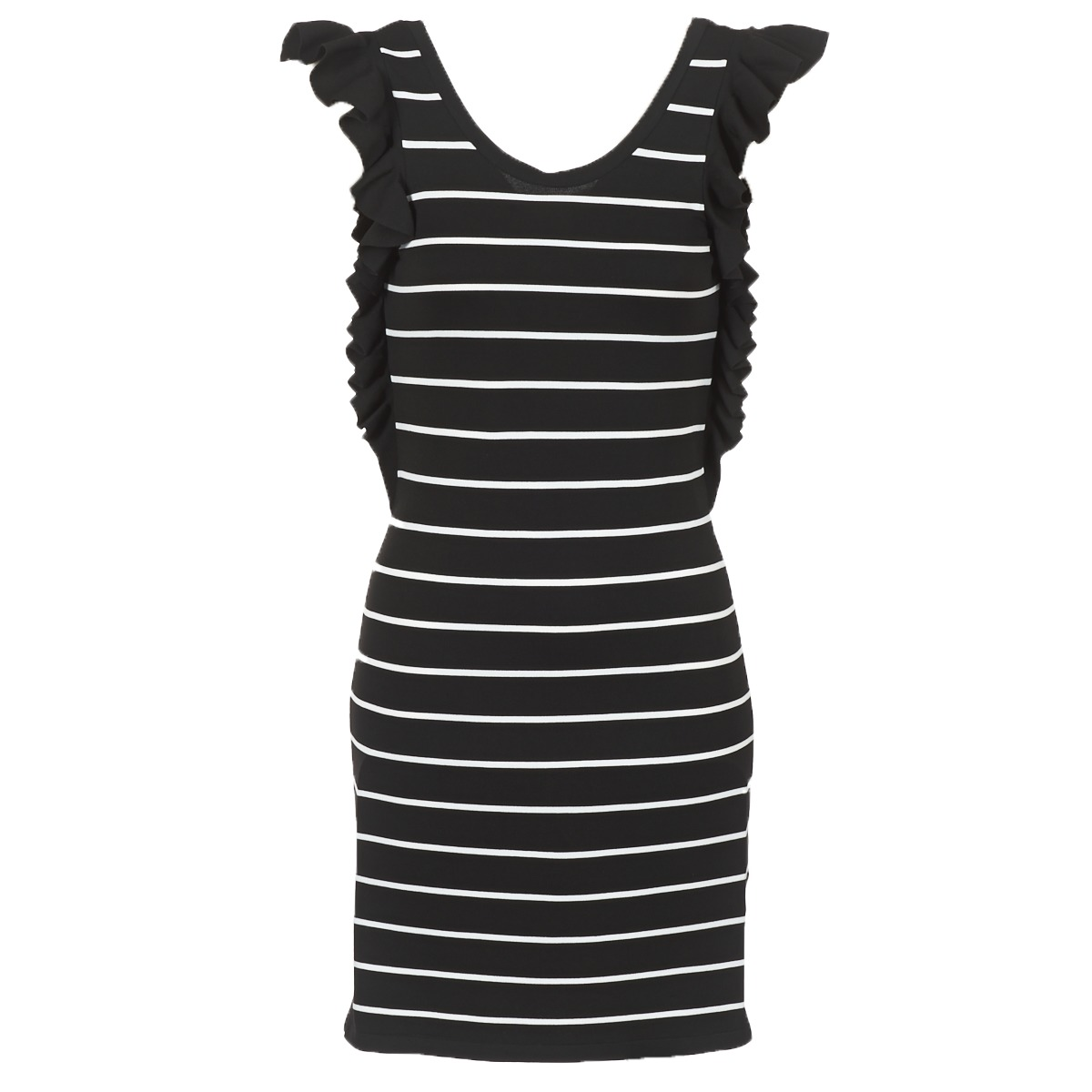 Vero Moda korte jurk vmabhy zwart