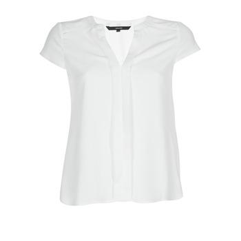 Textiel Dames Tops / Blousjes Vero Moda VMTONI Wit