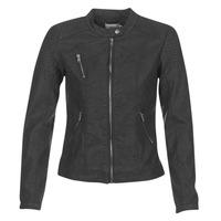 Textiel Dames Leren jas / kunstleren jas Only STEADY Zwart