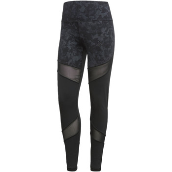 Textiel Dames Leggings adidas Performance Ultimate High-Rise Printed Legging Zwart / Meerkleurig