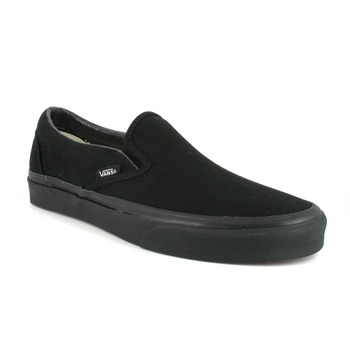 Vans Classic Slip-On Canvas Trainers Black 10