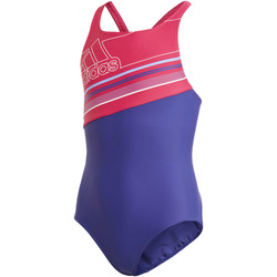 Textiel Meisjes Badpak adidas Performance Badge of Sport Spring Break Badpak Wit