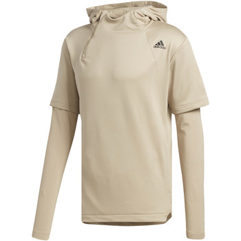 Textiel Heren Trainings jassen adidas Performance Electric Shooter Hoodie Beige