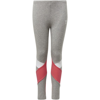 Textiel Meisjes Leggings adidas Originals Legging Grijs / Wit