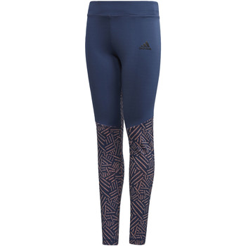 Textiel Meisjes Leggings adidas Performance Training Legging blue
