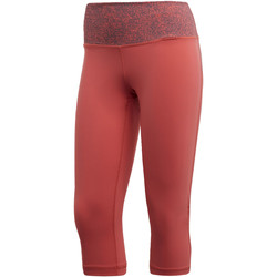 Textiel Dames Leggings adidas Performance Believe This High-Rise Printed Capri Legging Meerkleurig