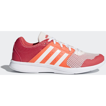 Schoenen Dames Lage sneakers Adidas Essentials Essential Fun 2.0 Schoenen Wit / Oranje