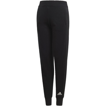 Textiel Meisjes Trainingsbroeken adidas Performance ID 3-Stripes Striker Broek Zwart / Zwart / Wit