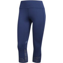 Textiel Dames Leggings adidas Performance How We Do 3/4 Legging blue