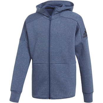 Textiel Jongens Trainings jassen adidas Performance ID Stadium Hoodie Wit