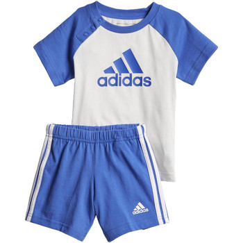 Textiel Jongens Trainingspakken adidas Performance Summer Mini-Setje Wit